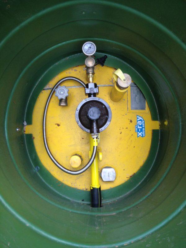 Сервисное обслуживание газгольдера
